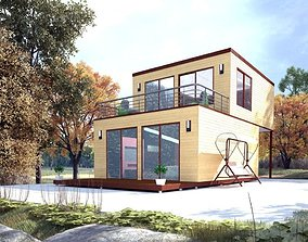 3D model Private House 60m2