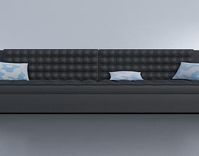 Long Sofa 3D model