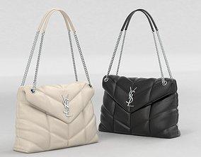3D model Saint Laurent Loulou Puffer Bags