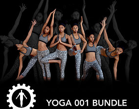 Yoga 001 Bundle 3D model