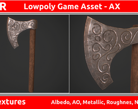 3D asset Ax PBR GameReady