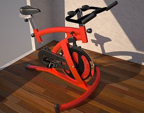 biking 3D model Megatop magnetic Spinning bike