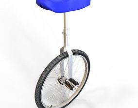 3D asset unicycle