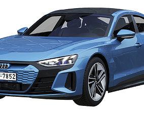 3D Audi RS e-tron GT