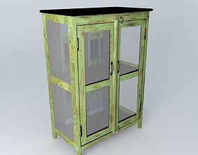 3D model AVIGNON green cabinet houses the world