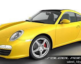 3D model Porsche 911 Targa 2012