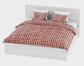 Bed Malm Ikea 3D model