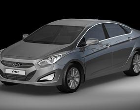 3D model 2012 Hyundai i40 Sedan