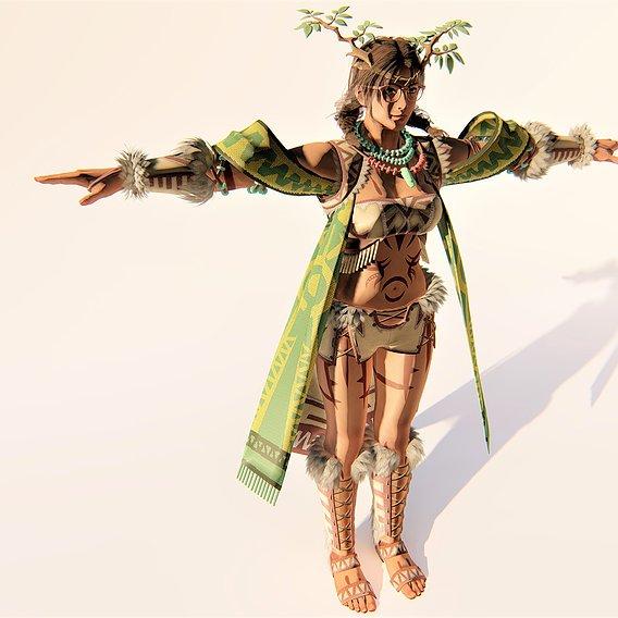 Tekken 7 Julia - Nature Costume