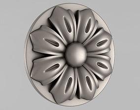 corbel Decor Rosettes 3D printable model