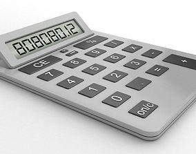 High quality basic calculator 3D model