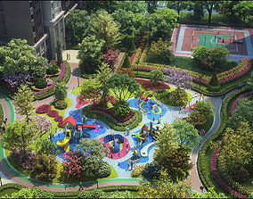 3D model Children amusement park 18