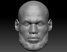 LeBron James 3D Print