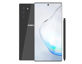 Samsung Galaxy Note 10 3D model note