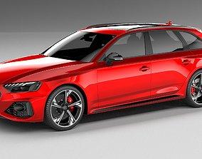 3D Audi RS4 Avant 2020