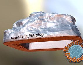 3D print model Hide a key hollow rock