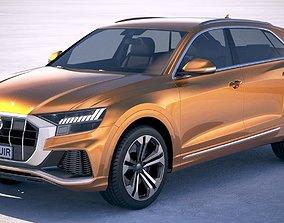 3D 2020 Audi Q8 2019