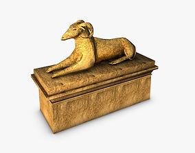 Egyptian sphinx ram 3D asset