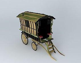 3D Romany Caravan LEDGE Style