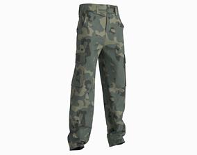 character 3D Cargo pants combat green