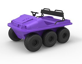 Diecast Argo 750 HD 6x6 Scale 1 to 18 3D printable model