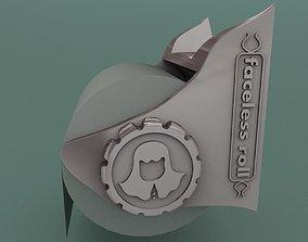 3D print model Toilet paper holder and Kitchen towel