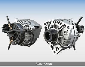 charge Alternator 3D