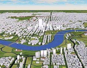 3D model Edmonton City Canada