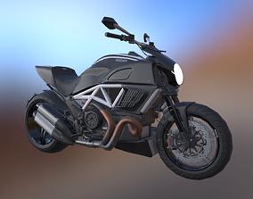 3D asset Ducati Diavel AMG