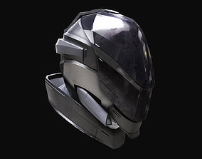 Scifi space helmet 3D model