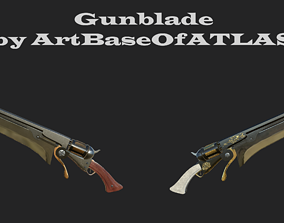 3D asset realtime Gunblade