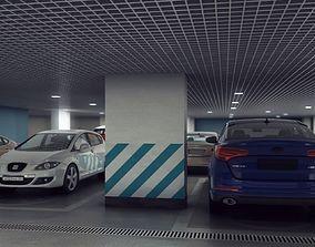 Underground Parking 3D model