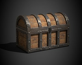 3D model animated Treasure Chest