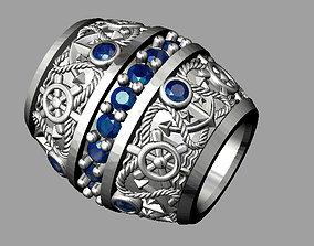 Diamond Bead bracelet 3D print model