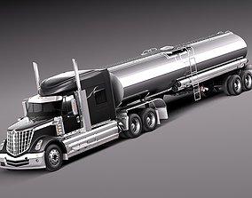 3D model International Lonestar 2014 Tanker Truck
