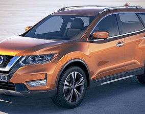Nissan X-Trail Crossover 2018 3D