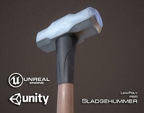 Sledgehammer 3D asset realtime