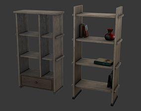 3D model realtime Bookshelf