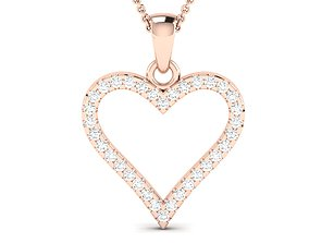 solitaire wedding engagement women pendant 3
