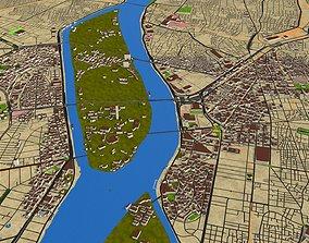 3D model Cairo city Egypt Oct 2020