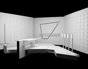 TV SET Design 3D model