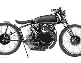 3D vintagebike Jeff Decker 1952 Vincent Black Lightning