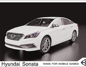 2016 Hyundai Sonata LP 3D asset