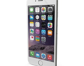 3D asset Apple iPhone 6s Plus Silver