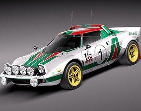 Lancia Stratos HF 1974 3D