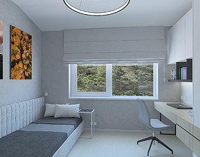 Wonderful boys room 3D