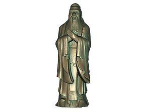 Confucius budha 3D print model