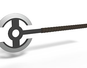 3D print model Double Headed Axe from The Old Guard 2020