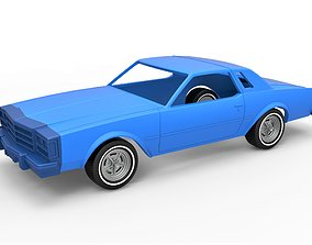 Diecast shell and wheels of old 3D printable model 5