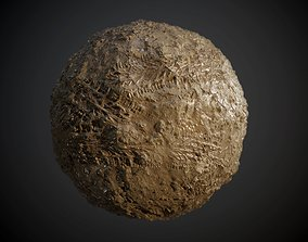 Ground Dirt Mud Soil Grass Tire Track Seamless PBR 3D